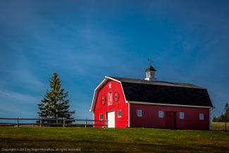 Red Barn found in Prince Edward Island
