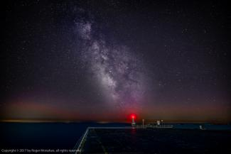 Milky Way above Cobourg Government Pier